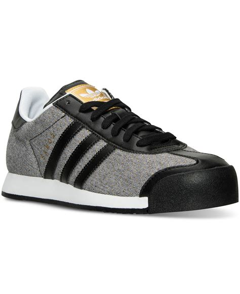 adidas s samoa casual sneakers from finish line finish line athletic shoes shoes