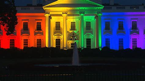 why is the white house white why the facebook pride is important