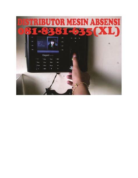Mesin Absensi Finger Scan 081 8381 635 xl jual mesin absensi fingerprint digital