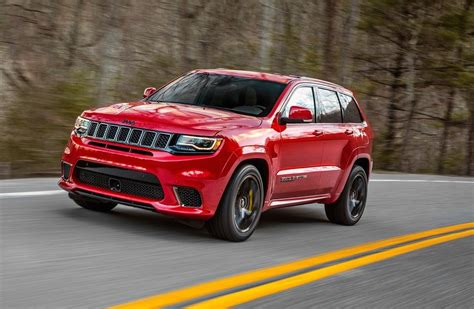 Jeep Grand Cherooke Jeep Grand Trackhawk Coming To Australia