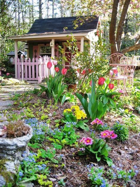 cute garden cute gardening shed