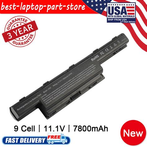 9 cell battery for acer aspire 4551 4741g 5741 as10d31 as10d41 as10d51 as10d61 ebay