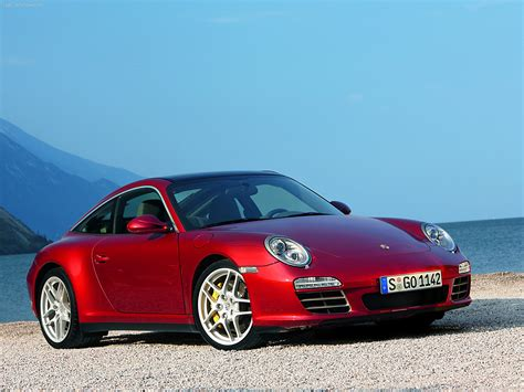 porsche red 2009 red porsche 911 targa 4 wallpapers