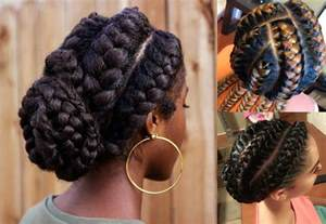 black hair styles with goddess braid or braid stunning goddess braids hairstyles for black women