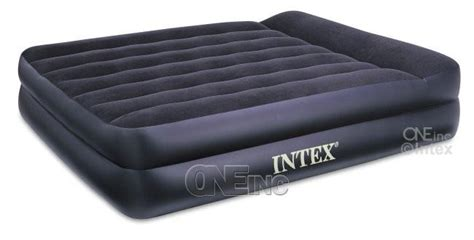 intex mid rise airbed pillow rest air mattress bed bed mattress sale