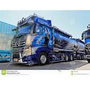 Mercedes Benz Actros Xtar Show Truck Editorial Image