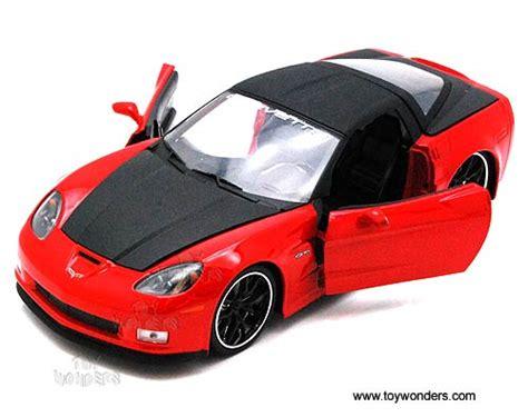 Bigtime 2006 Corvette Z06 Merah 2006 chevy corvette z06 top 91184xo 1 24 scale