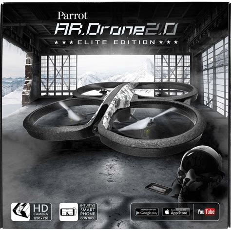 Parrot Ardrone 20 Elite Edition acheter un parrot ar drone 2 0 elite edition version snow sur robot advance