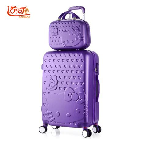 Luggage Bag Covers Hello 20 Inch hello travel luggage sets 20 quot 22 quot 24 quot 26 quot 28 quot inch suitcase set with 14 quot make up suitcase