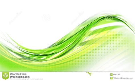 green plans abstract green background modern design stock illustration