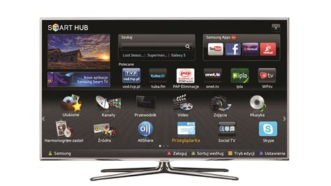 samsung smart samsung smart tv polskie aplikacje w czoå 243 wce â newskomp