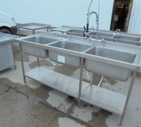 used stainless steel sinks used franke stainless steel bowl sink 210cmw x