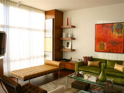 mid century modern living rooms photo page hgtv