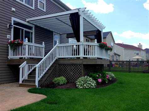 Pergola Mosquito Curtains How To Cover Your Deck Patio Or Porch For Any Price By Archadeck St Louis Decks Screened