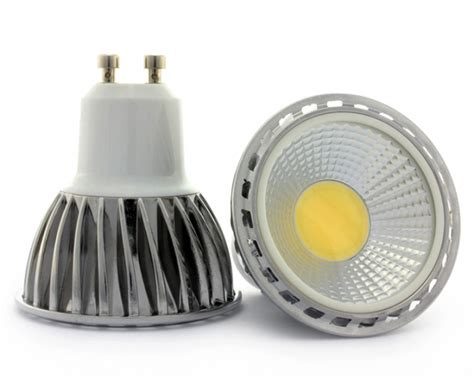 Gu10 Led Light Bulbs Gu10 Led Bulb 6w Smd Cob Spotlight 50w 60w Halogen