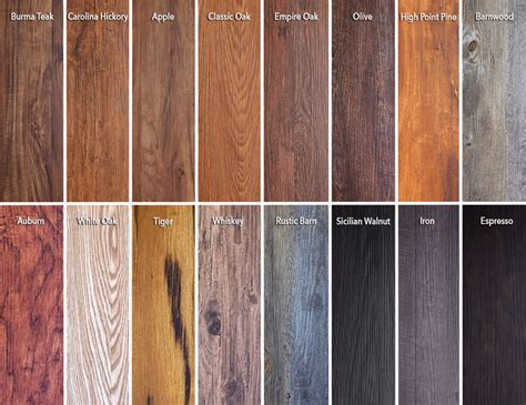 wood grain vinyl flooring planks featured on new trident luxury vinyl flooring website