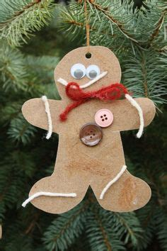 gingerbread ornament out of brown paper gingerbread house from brown paper bag free printable pals