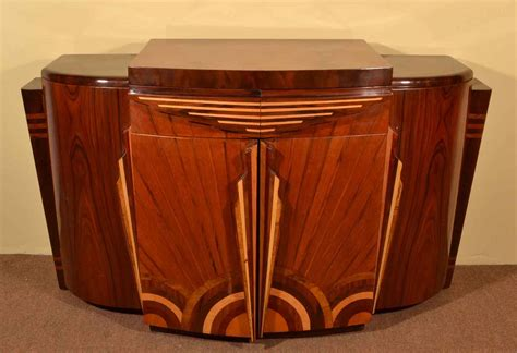 Art deco 1920s style rosewood drinks cabinet bar ref no 03613