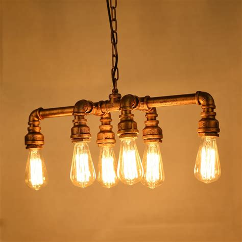 Pipe Chandelier Diy Special Pipe Light Fixture Diy Industrial Pipe Light Fixture L And Lighting Ideas