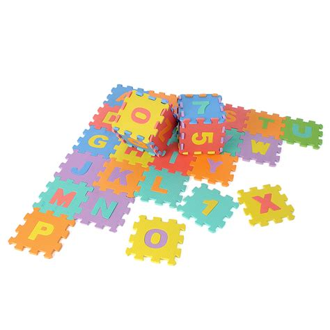 Foam Floor Alphabet And Number Puzzle Mat by 36pcs Educational Foam Alphabet Letters Numbers Floor