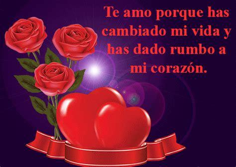 frases de amor con corazones y rosas frases de amor imagenes imagen de amor de rosas y corazones con frase