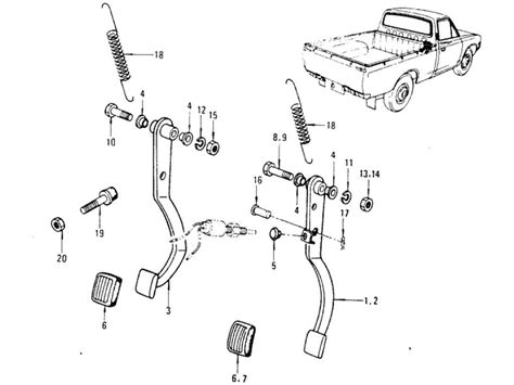 Datsun 620 Parts by Datsun 620 Power Index