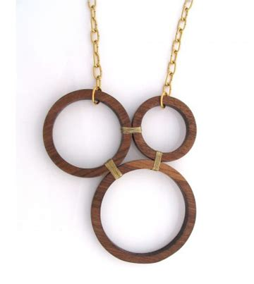wood jewelry coquette knock on wood