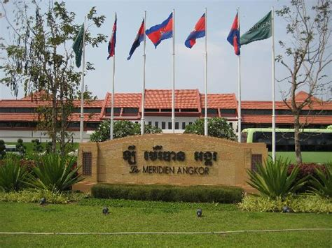 Hotel Packages From Le Meridien Angkor by Hotel Sign Picture Of Le Meridien Angkor Siem Reap