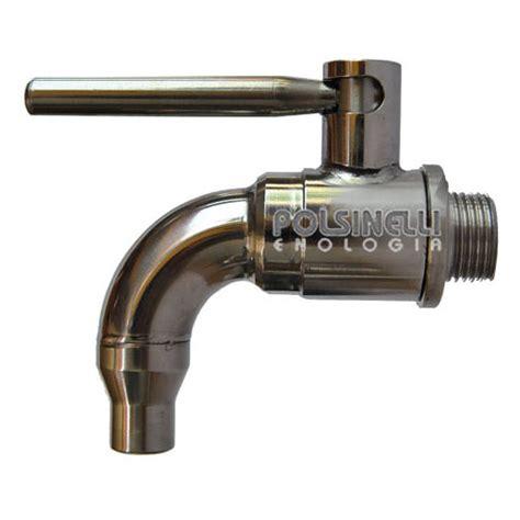 rubinetto inox rubinetto per vino inox 1 2 quot vino polsinelli enologia