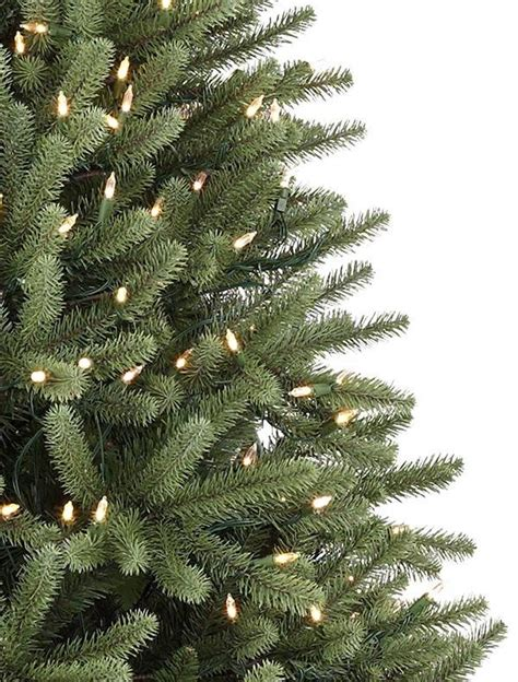 blue spruce artificial tabletop tree royal blue spruce artificial tree balsam hill