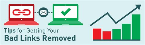 tips for getting a bad tips for getting your bad links removed