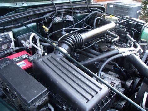 Jeep 6 Cylinder Jeep Wrangler Tj Sport 6 Cylinder Engine