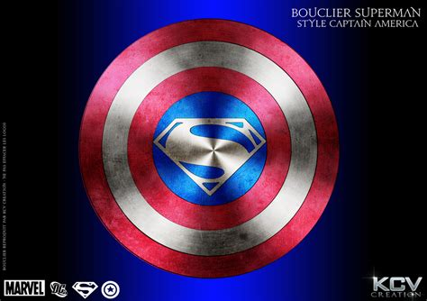 captain america bouclier wallpaper bouclier superman style captain america by kcv80 on deviantart