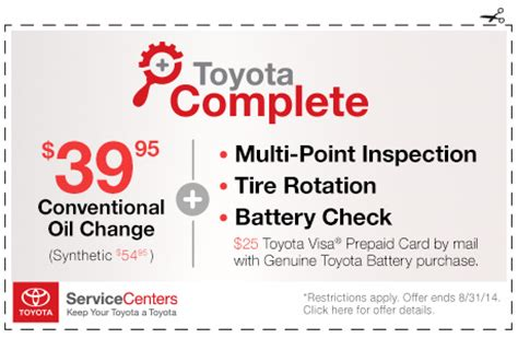 toyota hackensack coupons
