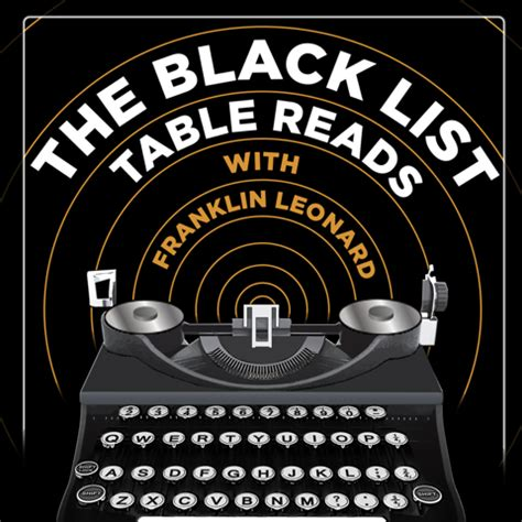 black list table reads announcing the black list table reads the black list