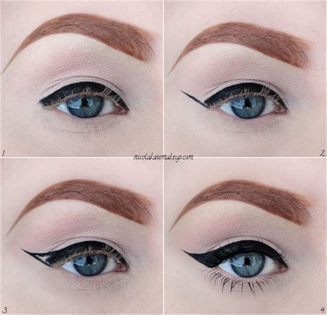 Make Up Eyeliner nicola kate makeup eyeliner in 4 easy steps featuring