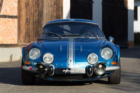renault alpine a110 renault alpine a110 production car ready for geneva