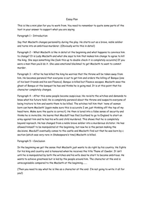 Macbeth Ambition Essay by Macbeth Essay On Ambition Macbeth Essay Ambition Website That Write Essays For You Macbeth