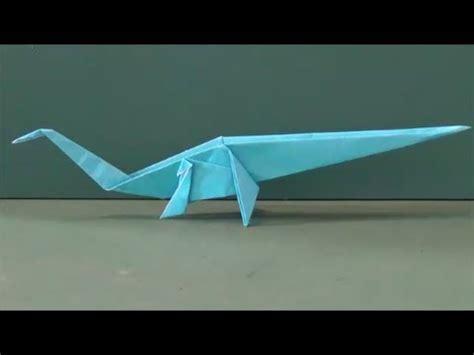 Origami Diplodocus - hallorum videolike
