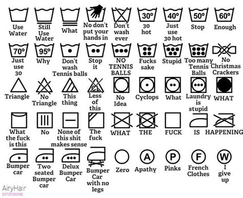 laundry design guide laundry symbols as explained by men