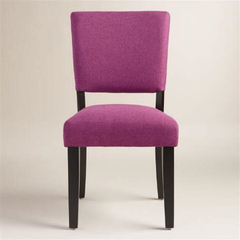 Purple Dinning Chairs - purple mady dining chairs set of 2 world market