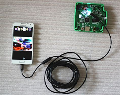 Android Endoscope Ip67 Waterproof For Hitam 1280x480 7mm bluefire 7mm android endoscope ip67 waterproof usb inspection snake 1 0m microscopes