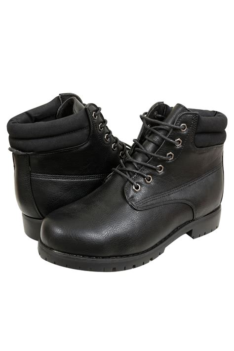 black lace up boots black lace up ankle boots in eee fit 4eee 5eee 6eee
