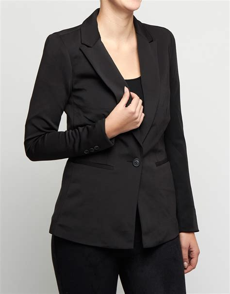Blazer New Edition Black D only blazer new emilia l s blazer jrs black