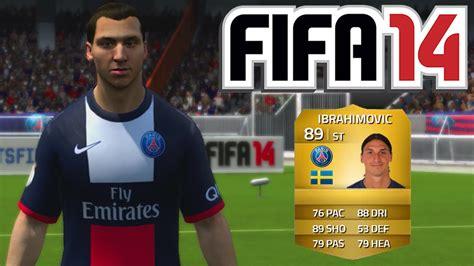 Ibrahimovic Tattoo Fifa 14   fifa 14 zlatan ibrahimovic 89 player review futwiz