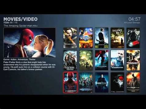 themes wd tv live smp wdtvlive hub wall moviesheets youtube