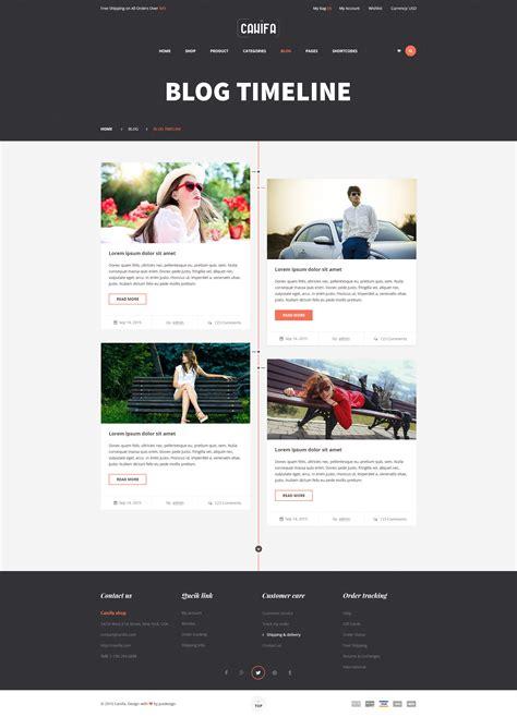 themeforest timeline canifa ecommerce psd templates by yolopsd themeforest