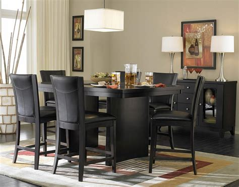 Black Dining Room Furniture Furniture Updating With Black Spray Paint Southern Hospitality Dining Room Chairs