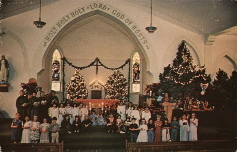 st peters catholic church roswell nm postcard
