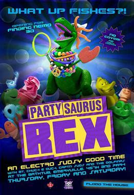 toy story bathtub party partysaurus rex wikipedia